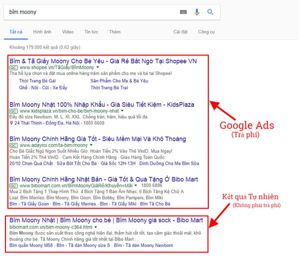 Quảng cáo google adwords uy tín giá tốt chuyên nghiệp - www.quocbuugroup.com