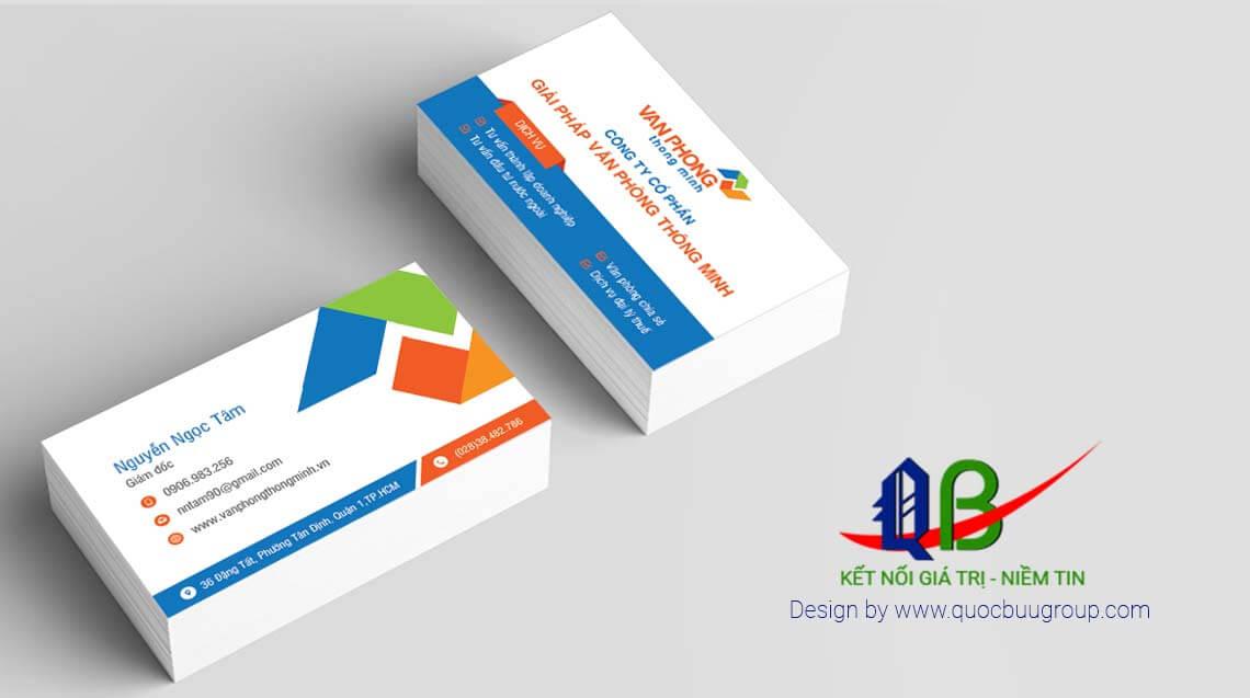 Logo, name card - Văn phòng thông minh
