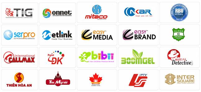 Một số mẫu logo tham khảo - Thiết kế logo tại tỉnh Bình Thuận