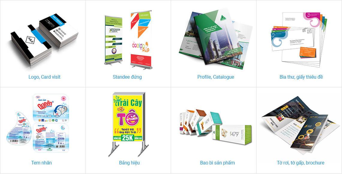 Minh họa một số mẫu thiết kế thương hiệu - www.quocbuugroup.com