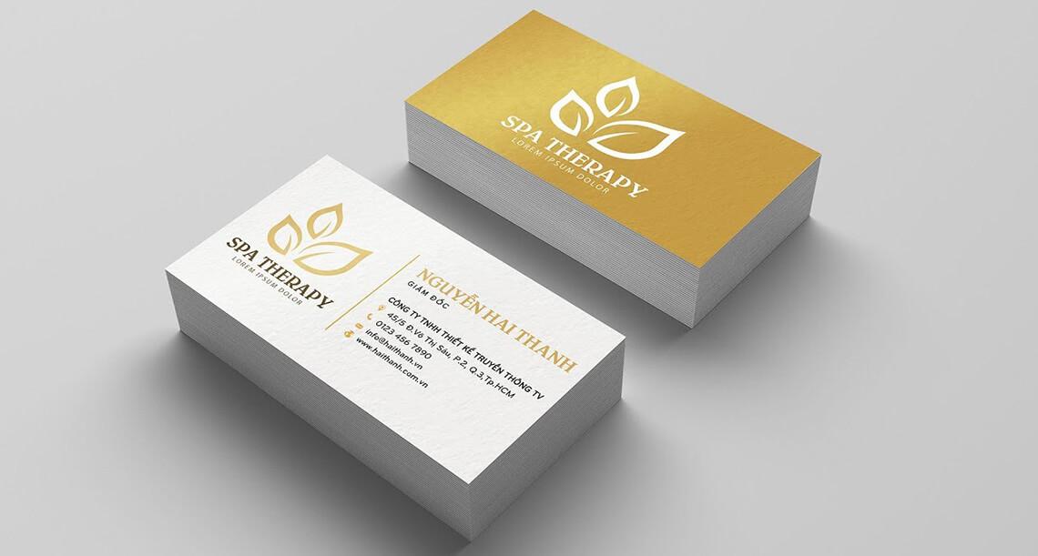 Thiết kế logo và name card theo yêu cầu - www.quocbuugroup.com